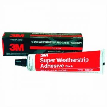 3M™ Black Super Weatherstrip and Gasket Adhesive, PN 08008